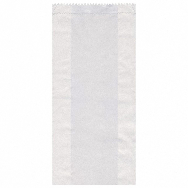 Papierfaltenbeutel weiß 14+7 x 29cm für ca. 1,5kg Inhalt, 1000 Stk.