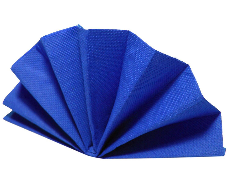Servietten DekoStar 40 x 40 cm, dunkelblau, 40 Stk.