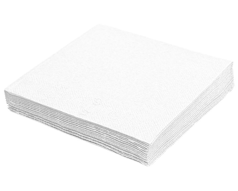 Servietten 40 x 40cm 1/4 -Falz, 3-lagig weiß, 250 Stk.