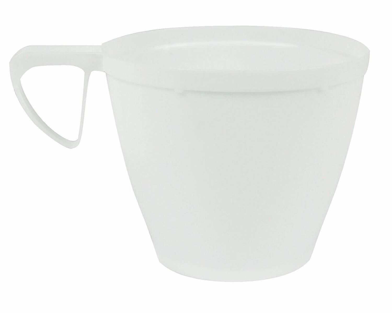 Alufix Coffee & Tea Kaffeetasse PS DM 78 mm 180 ml weiß, 10 Stk.