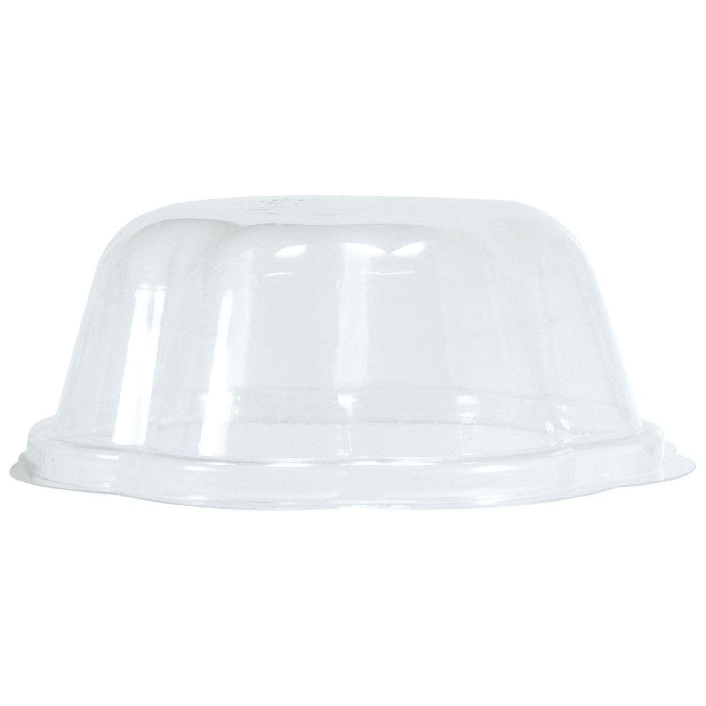 BIO Deckel für Eisbecher 300ml, transparent, PLA, 50 Stk.