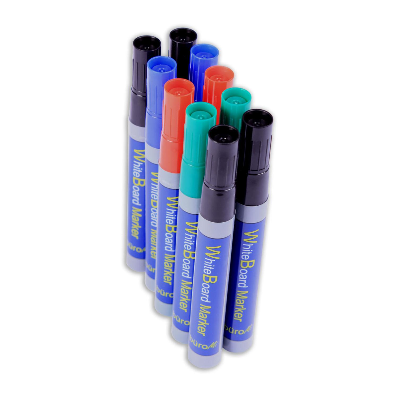 Whiteboardmarker Farbmix farblich sortiert, 10 Stk.