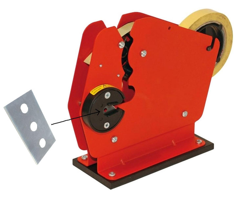 Ersatzklinge für Beutelverschlussmaschine T5 und ND4300/ND4333/ND8300/ND8333