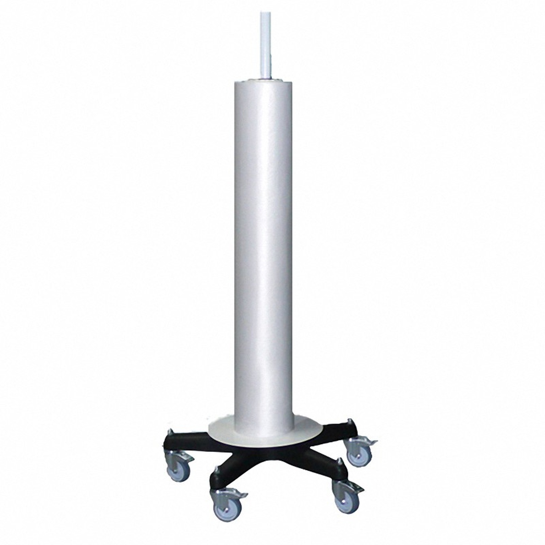 Folienspender senkrecht, für Folienbreite bis 1500 mm, weiß/schwarz bis 50kg