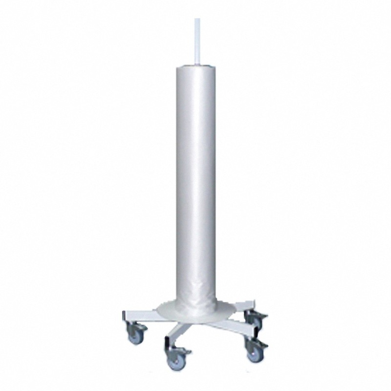 Folienspender senkrecht, Folienbreite bis 1200 mm, medizinischer Bereich