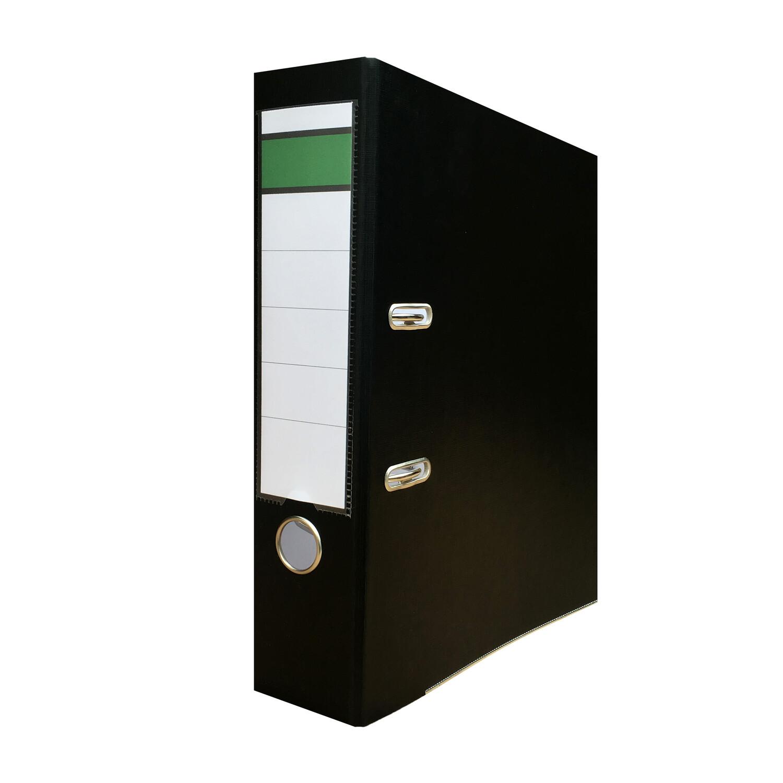Ordner A4 PP-Color Kunststoff DIN A4 breit, 8cm schwarz
