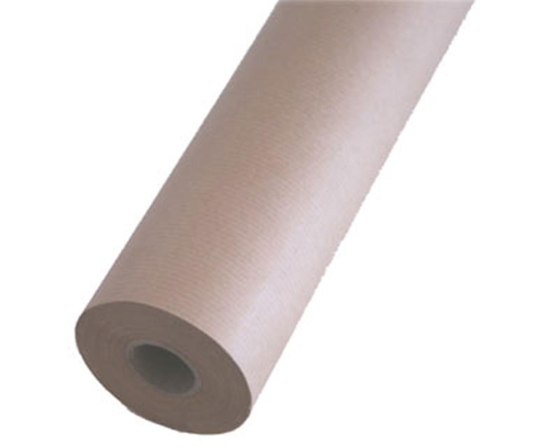 Imikraft Packpapier Kraftpapier Unterlegpapier Geschenkpapier  30cmx50m, braun