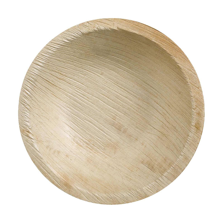 Palmblattschale TESSERA  Ø 22 cm 1250ml rund, 10 Stk.