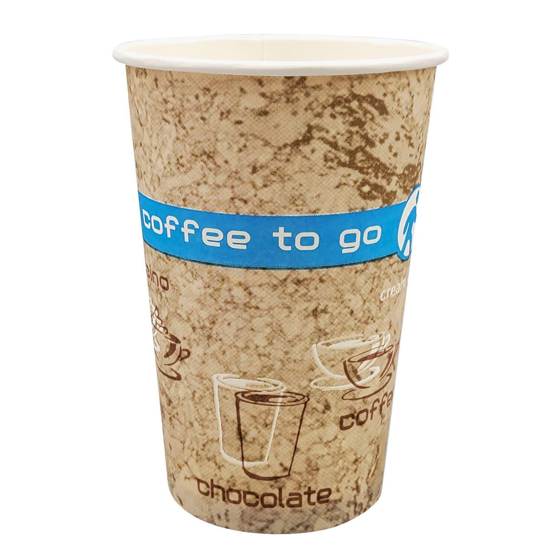 Kaffeebecher Coffee ToGo COFFEE DREAMS 300 ml hoch und schmal, 50 Stk.