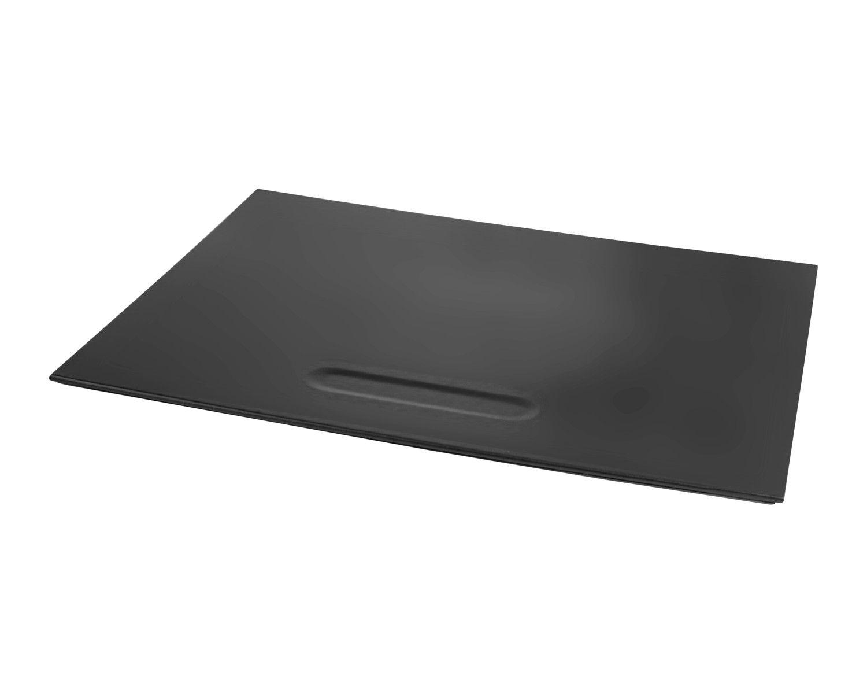 PAVO Premium Büroset Schreibtischset schwarz Kunstleder, 50x40cm, 3-teilig