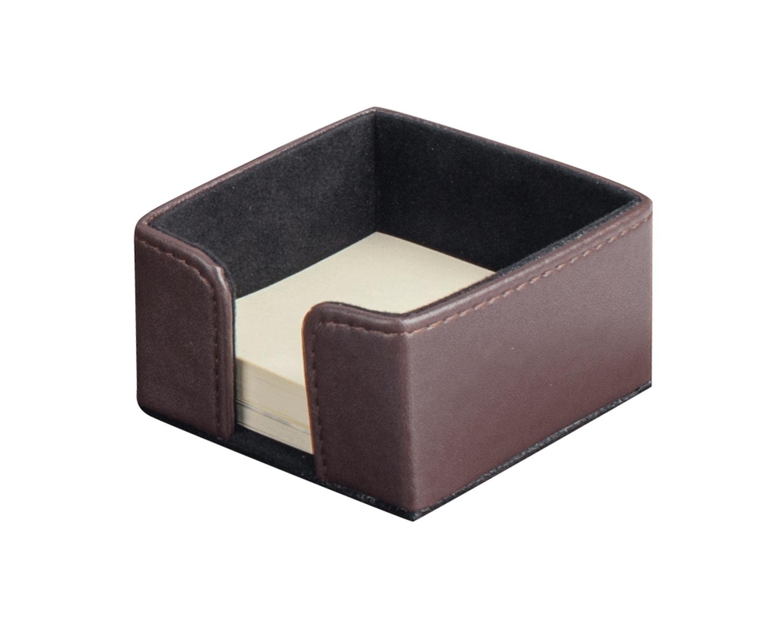 PAVO Premium Büroset Schreibtischset braun Kunstleder 50x40cm, 3-teilig