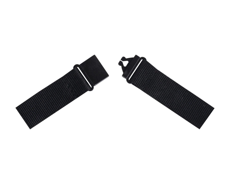 Textilband für Ausweishalter Schlüsselband Lanyard Safety schwarz, 10 Stk.