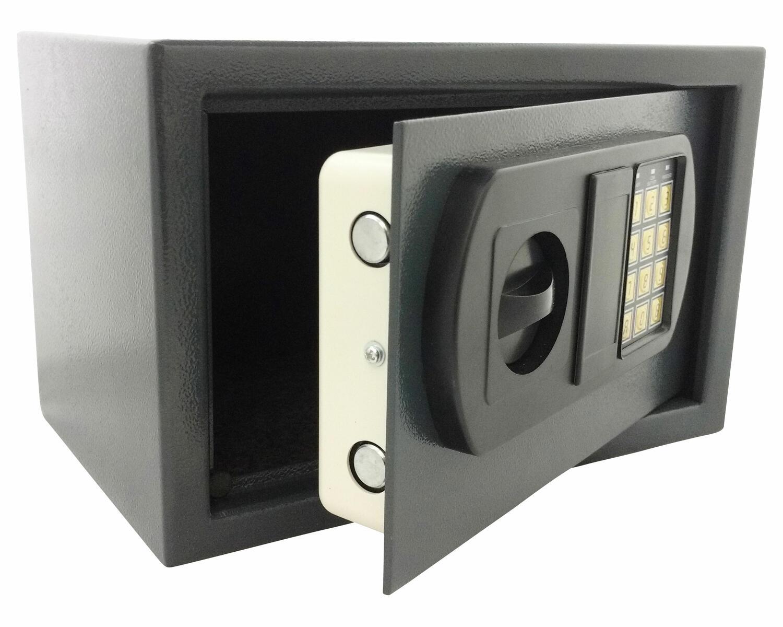 Tresor Safe 35x25x25cm mit elektronischem  Zahlenschloß für  Tisch/Wandmontage