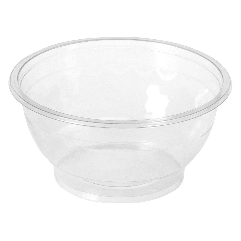 BIO Salatschalen rund aus Bio-Kunststoff (PLA) 700 ml Ø 14,5 cm 50 Stk.