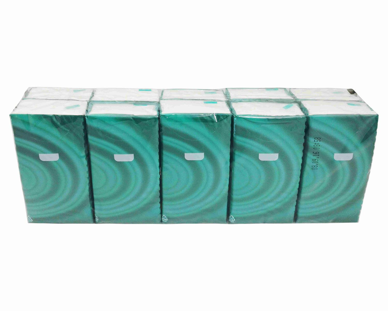 Semy Care Taschentücher sanft, je 10 Stück unterverpackt, 4-lagig weiß, 100 Stk.