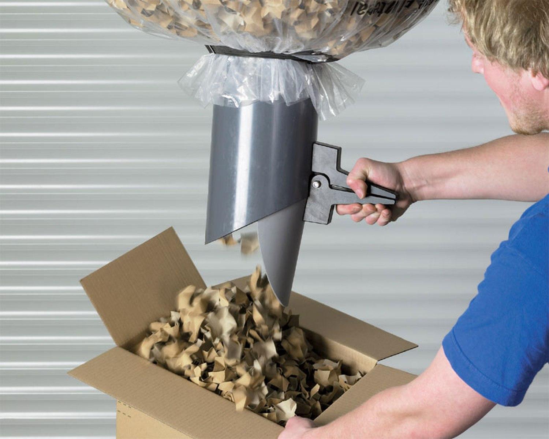 Papier-Verpackungschips Polster- Papierchips 100% recycling 150 Liter in Karton