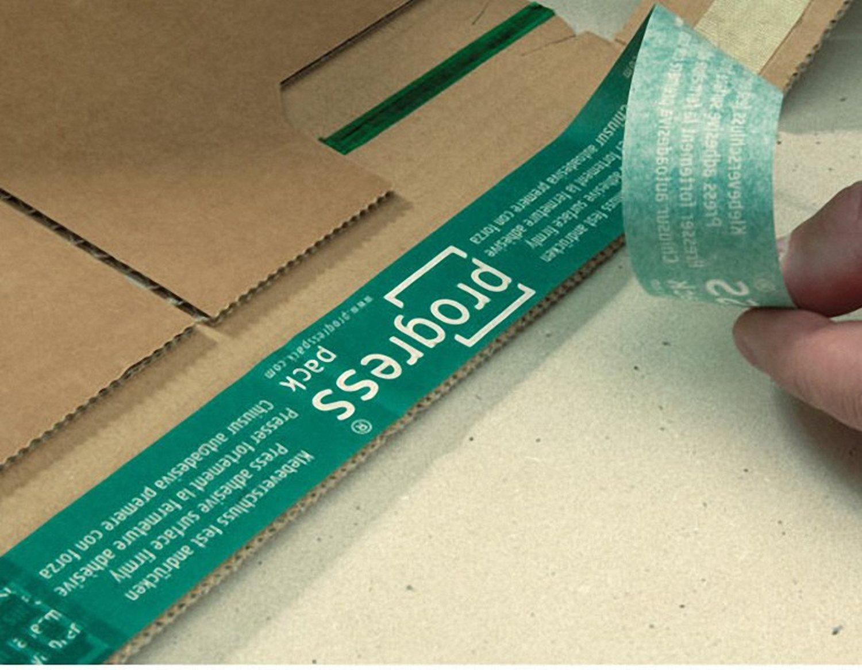 Universalverpackung B03.02 mit seitlichen Schutzlaschen, 248x185x 1-80mm, für B5