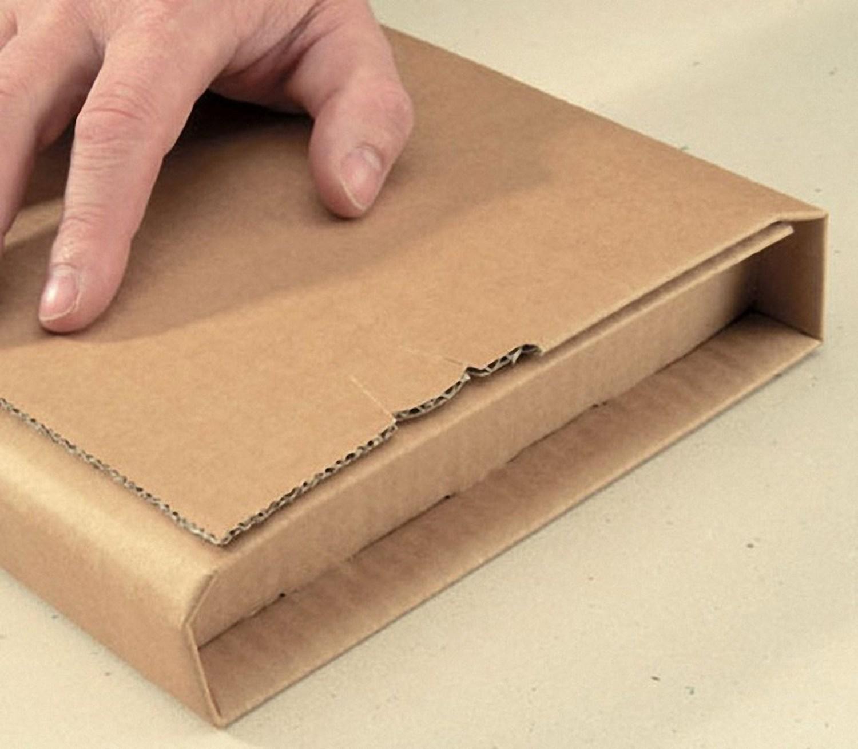 Universalverpackung B05.01 mit zentraler Packgutaufnahme 230x165x 1-70mm, für C5