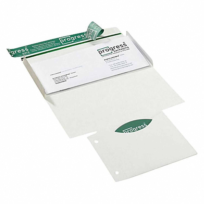 CD/DVD/BLURAY Mailer, DIN lang, mit Archivtasche, für 1 Disk, ohne Sichtfenster