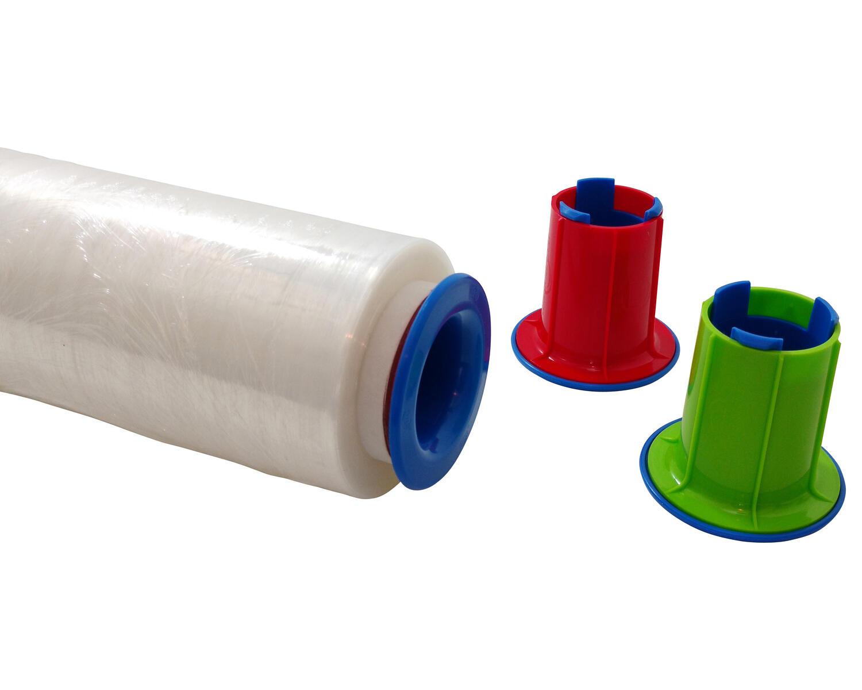 Abroller-Set für Stretchfolie Handwickelfolie, einfache Anwendung, grün
