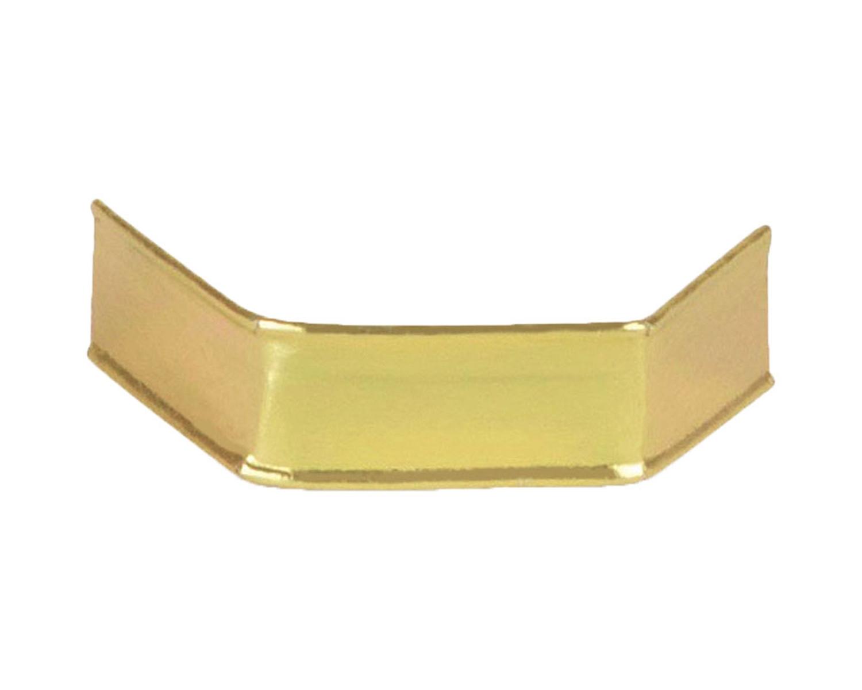 U-Clipse für alle Arten Beutel, 33 mm, Gold, Papier, 1000 Stk.