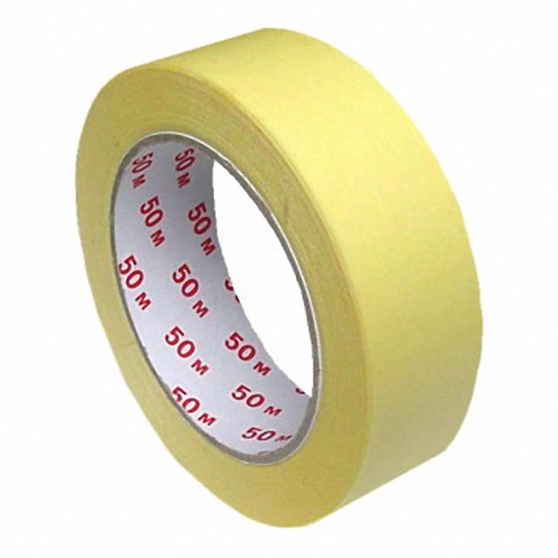 Kreppband Kreppklebeband Abdeckband CLASSIC, gelb, 30mm x 50m