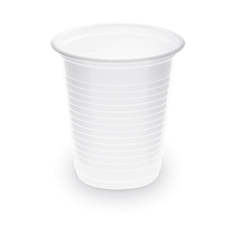 Trinkbecher Schnapsbecher weiß 80 ml PP, Ø 55 mm, 100 Stk.