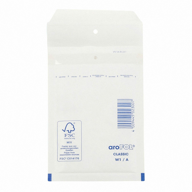 AROFOL CLASSIC Luftpolstertasche  1/A-11W, 100x165mm, weiß