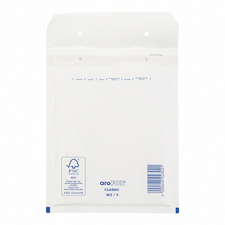 AROFOL CLASSIC Luftpolstertasche  3/C-13W, 150x215mm, weiß