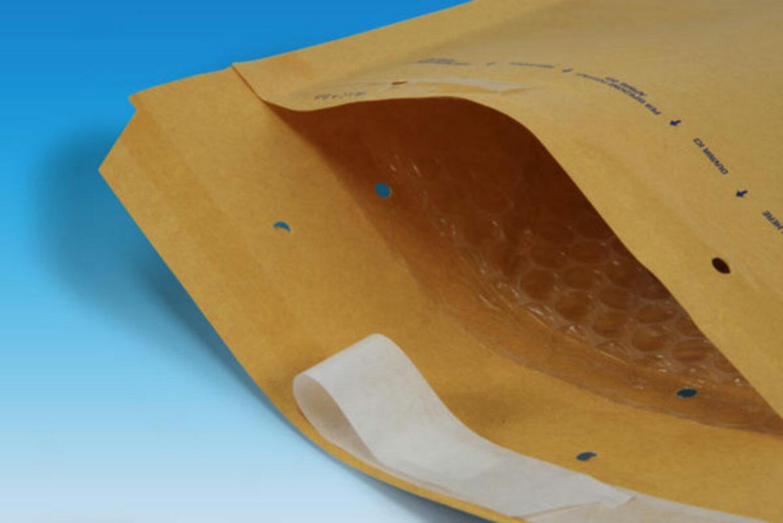 AROFOL CLASSIC Luftpolstertasche  1/A-11, 100x165mm, braun