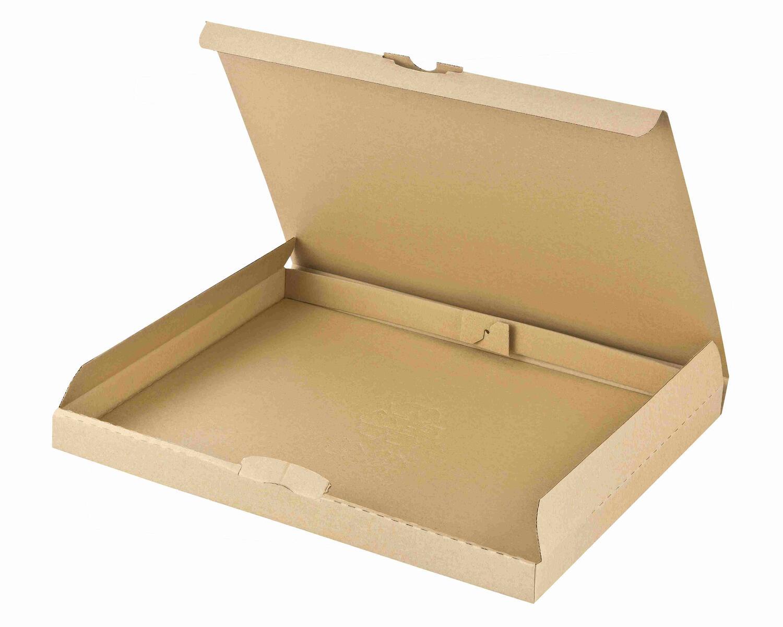 Maxibriefkarton DHL briefkastentauglich Höhe 3cm 310x225x30mm Din A4 braun