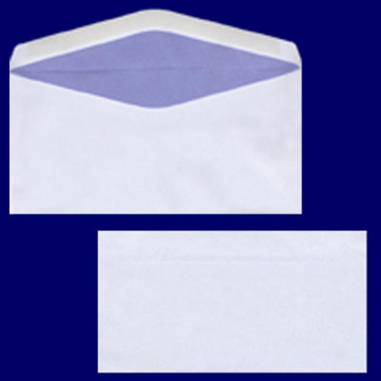 Briefumschlag DL-C5/6 220x110mm, 75gr, NK OF, weiß, 100 Stk.