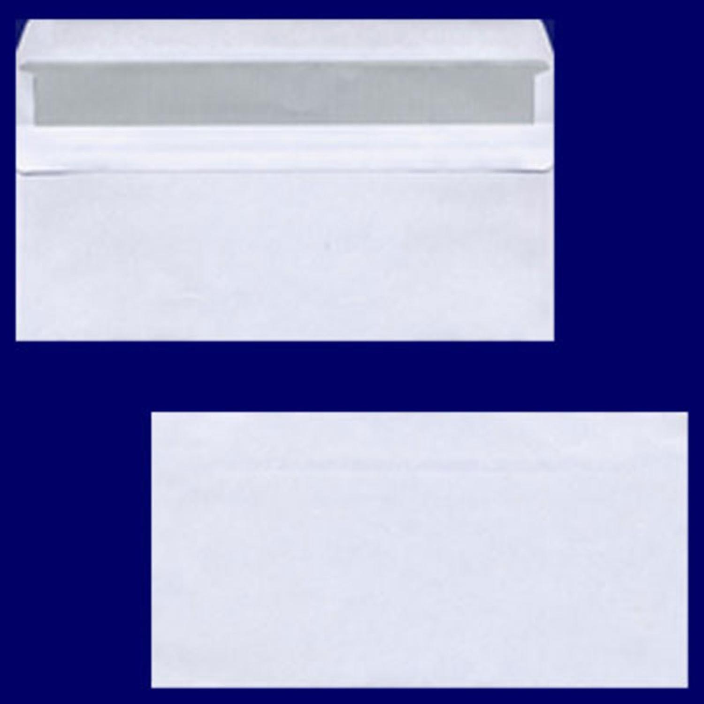 Briefumschlag DL-C5/6 220x110mm, 75gr, SK OF, weiß, 100 Stk.