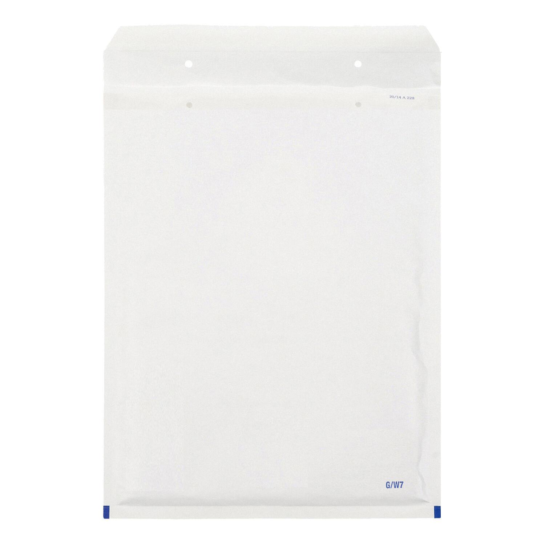 BUDGET Luftpolstertaschen 7/G-17, 230x340mm, passend für A4, weiß, 100 Stk.