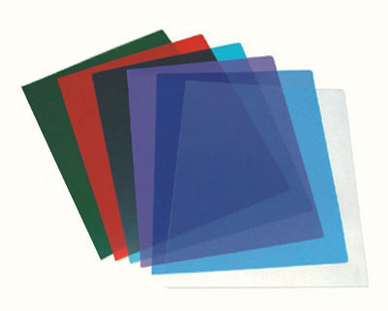Deckblätter 0.20mm, A4, transparent glasklar,  25 Stk.