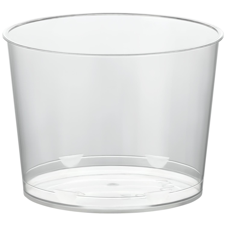 Eisbecher PS rund 110 ml Ø 6,2 cm   Höhe 5,3 cm glasklar CLASSIC  100 Stk.