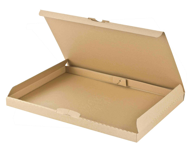 Großbriefkarton Maxibriefkarton DHL Höhe 2cm 340x250x20mm DIN A4/B4 braun