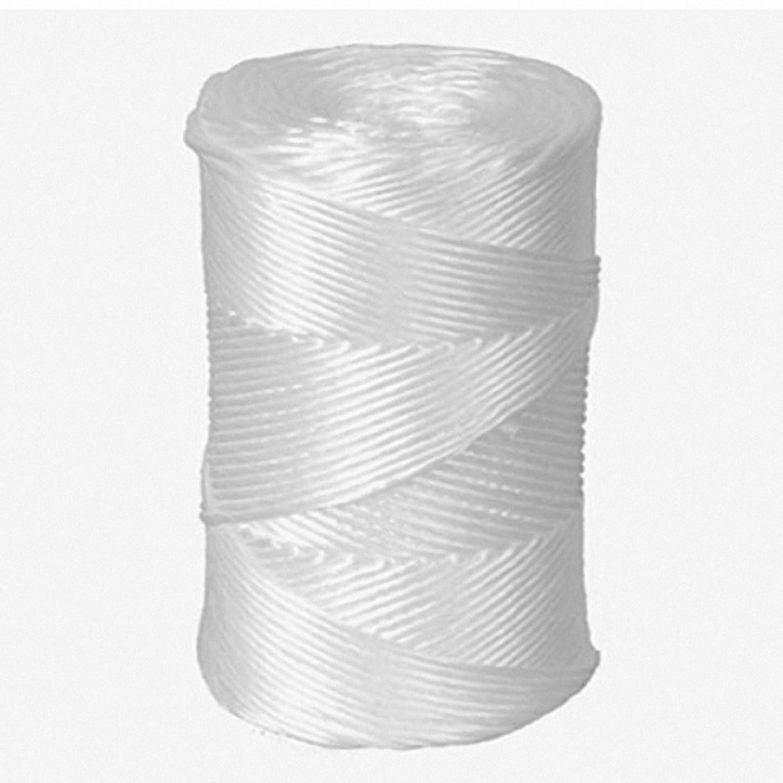 Packschnur, Kordel, Bindfaden, PP, extrastark, weiß, 2.5mm, 250 Meter