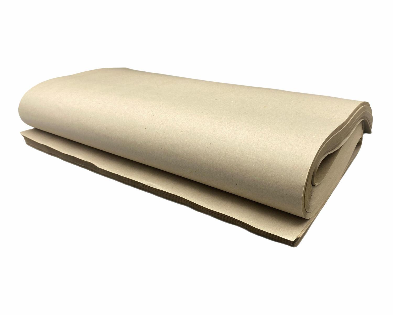 Packpapier Schrenzpapier 80gr. 50x75cm,  1kg, ca. 33 Bögen