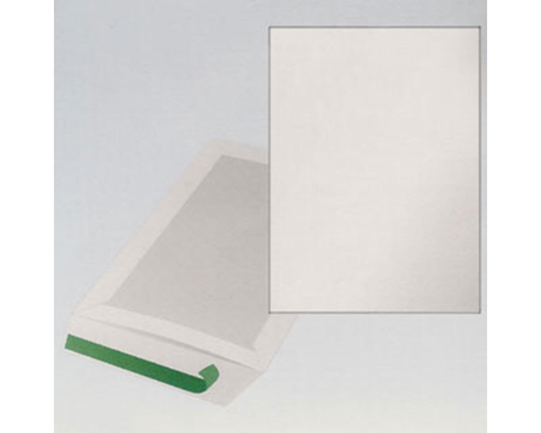 Papprückwandtaschen Kartonrückwandtaschen C4 229x324mm, weiß, 100 Stk.
