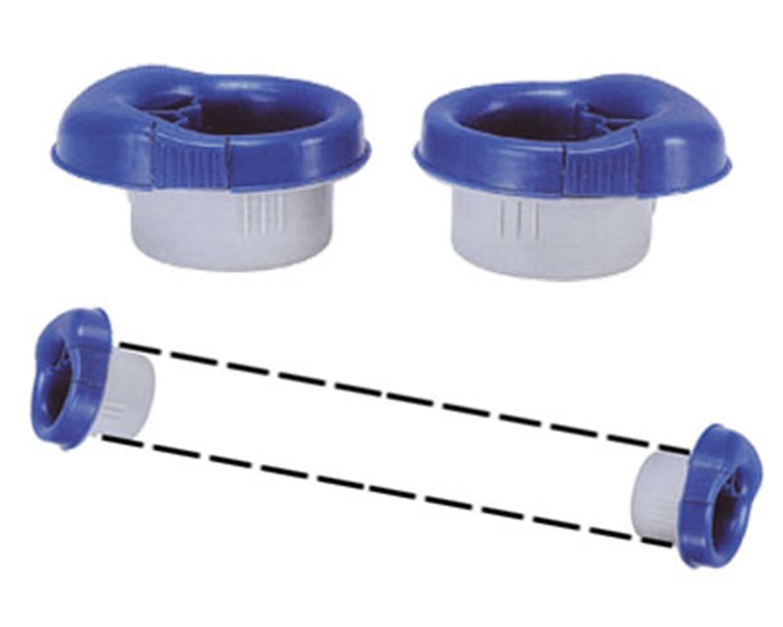 Abroller-Set für Stretchfolie mit Bremse, einfache Anwendung