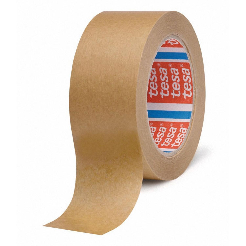 TESA Papierklebeband tesapack 4313, lösungsmittelfrei, 50mm, braun