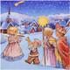 Weihnachtsservietten 3-lagig 33 x 33 cm Sternsinger, 20 Stk.