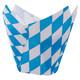 Muffin-Tulip-Wraps, Bayerische Raute, 160x160 mm, 24 Stk.