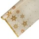 Tischdecke Tischtuch Premium Weihnachten Airlaid 1,2m x 6m stoffähnlich Sterne