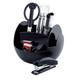 PAVO Premium rotierender Schreibtischorganizer,inkl. 9-teiligem Zubehör, schwarz