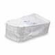 Pappteller Kuchenteller Imbissteller Teller Recycling 19 x 33,5cm weiß, 125 Stk.