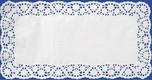 Deko-Tortenspitzen eckig, weiß, 25 x 38 cm, 6 Stk.