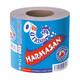 Toilettenpapier WC-Papier natur 1-lagig Harmasan, 400 Blatt