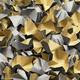DECOFILL dekorative Papier-Verpackungschips Polsterchips, grau, 120 Liter